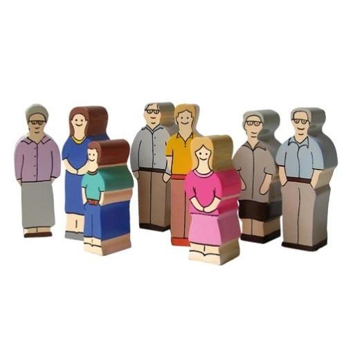 Holzfamilie Europa-Grossfamilie