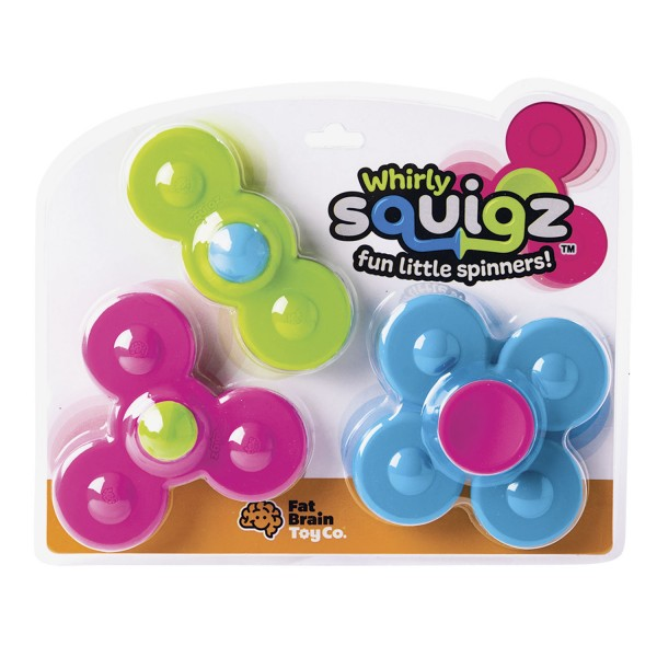 Squigz mit Drehelementen NEU! / Whirly Squigz NEW!