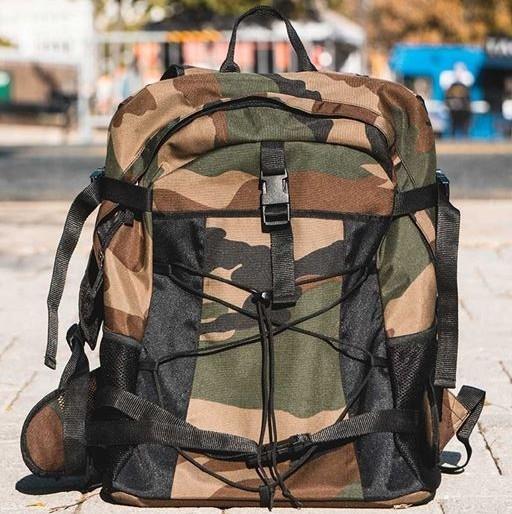 BackjackRucksack Camouflage/ Backjack Backpack Camouflage