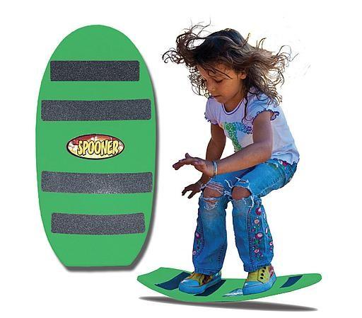 Spooner Board freestyle - green
