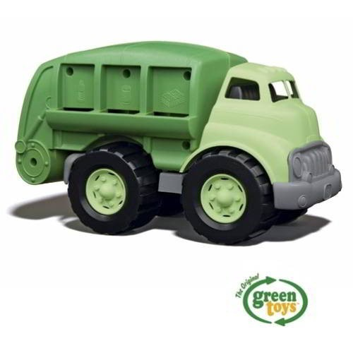 Recycle Truck green