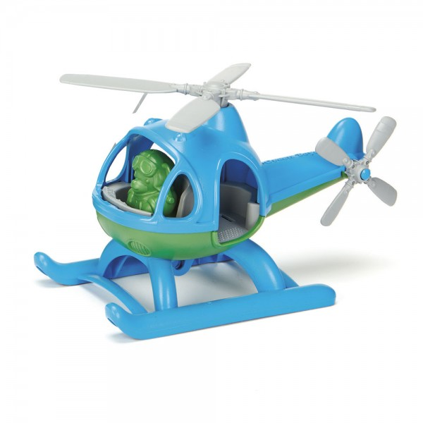 Helicopter, blue