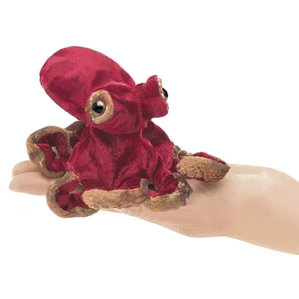 Mini Oktopus, rot / Mini Red Octopus