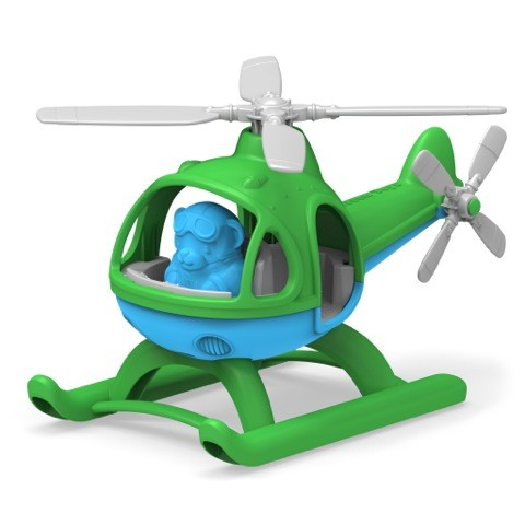 Helicopter, green