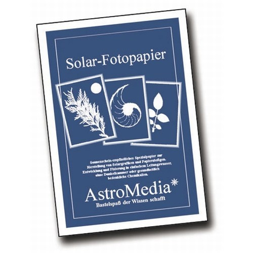 Solar-Fotopapier DIN A 5, 140 X 190 mm