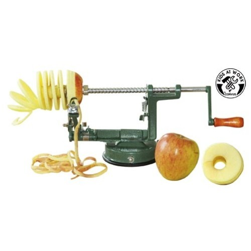 Apple husking machine