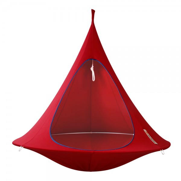 Cacoon Double - chili red Ø 180 cm