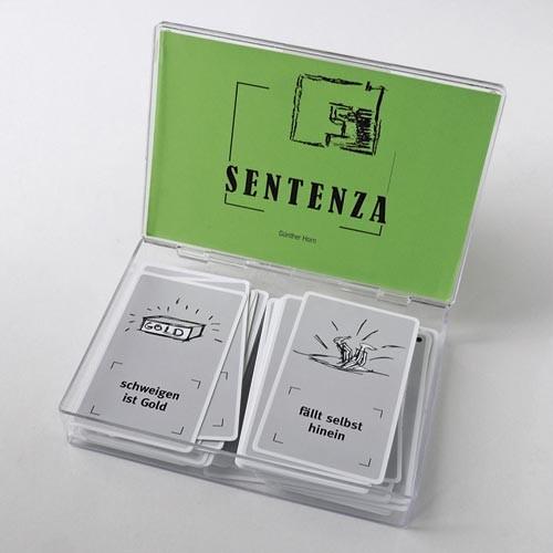 Sentenza - ein Sprichwörterspiel - Gesprächskärtchen