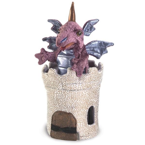 Dragon in Turret