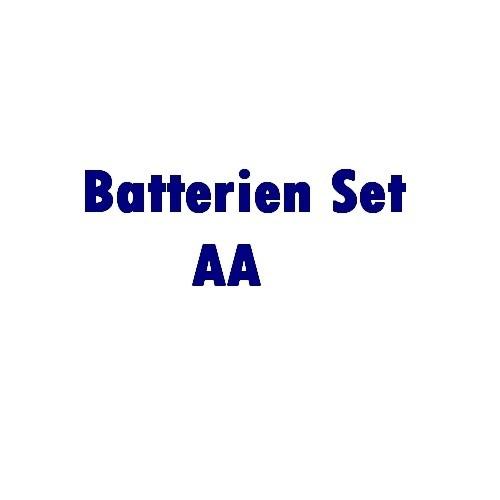 Zubehör: Batterie Set 4 x AA 1,5 Volt