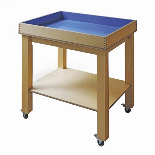 Sandkasten für Sandspieltherapie L 74 x B 58 x H 80 cm