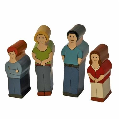 Holzfamilie Europa II Neu