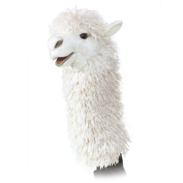 Lama für die Puppenbühne / Alpaca Stage Puppet