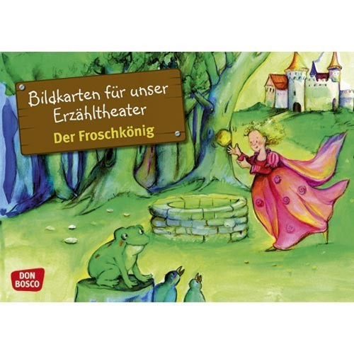 Bildkarten - Froschkönig