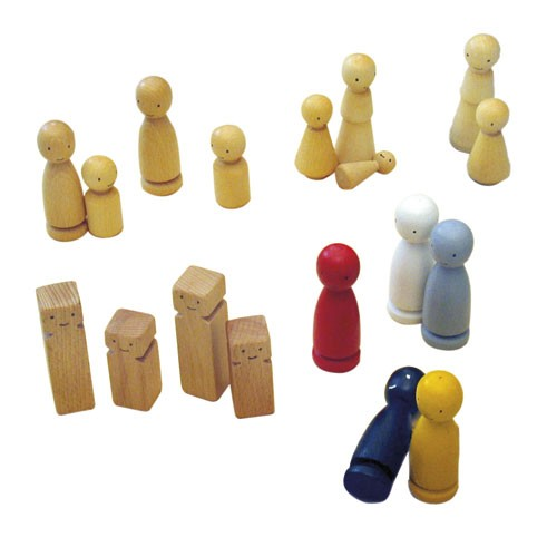Figure set for the family board (replacement)