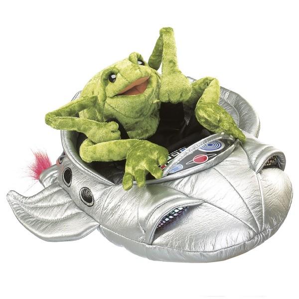 Frosch im Raumschiff / Frog in Spaceship