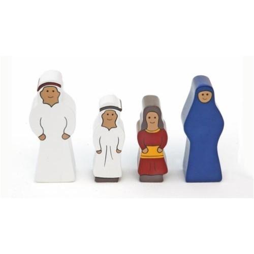 Holzfamilie Arabien