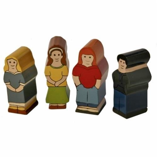 Holzfamilie Kids