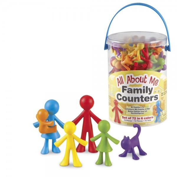All About Me - Familien-Figuren-Set