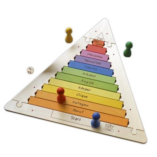 Problempyramiden-Spiel